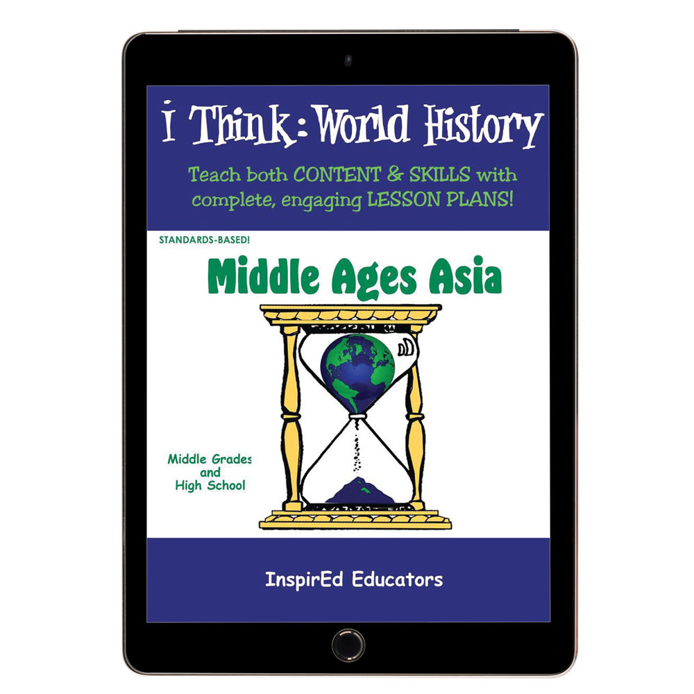 i Think: World History, Middle Ages Asia Activity Book