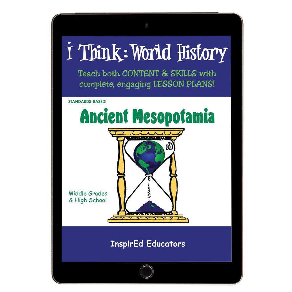 i Think: World History, Ancient Mesopotamia Activity Book