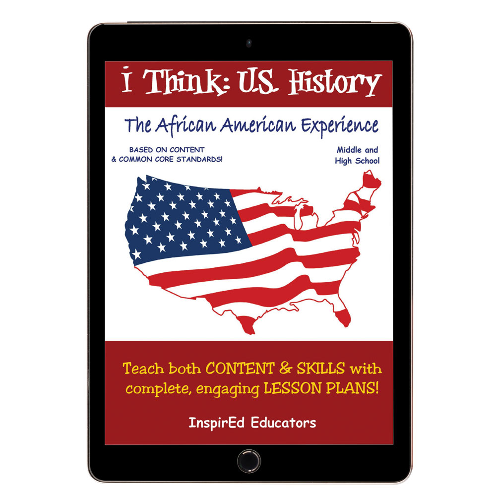 i Think: U.S. History, African American Experience Activity Book