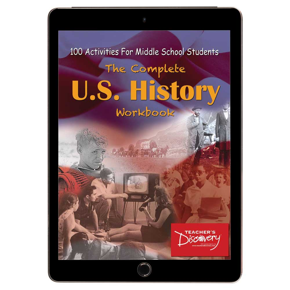 Complete U.S. History Workbook for Middle School