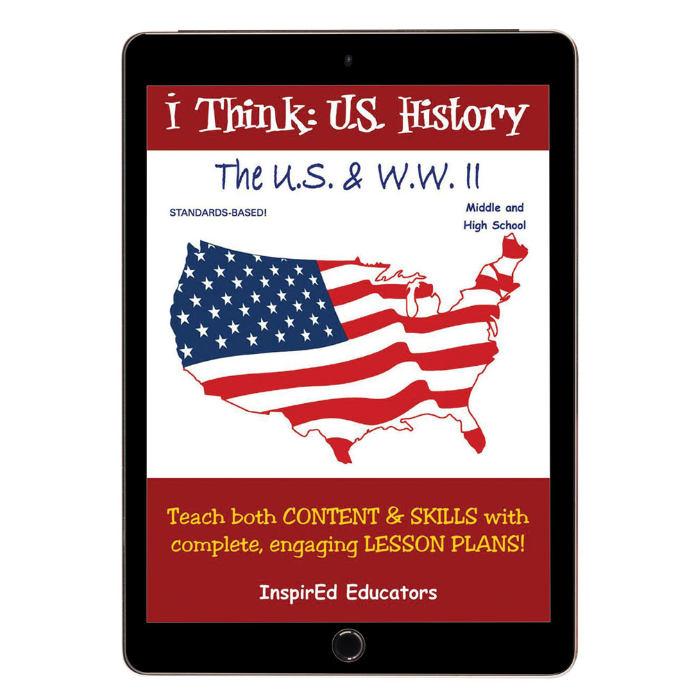 i Think: U.S. History, The U.S. & WWII Activity Book