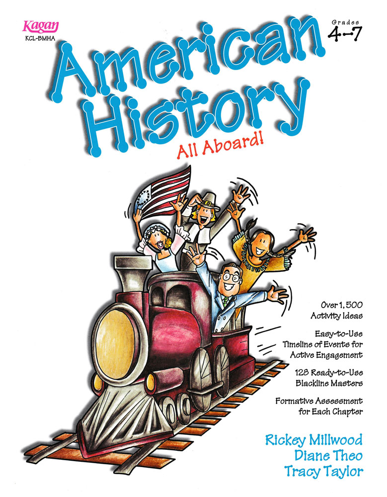 American History All Aboard Book