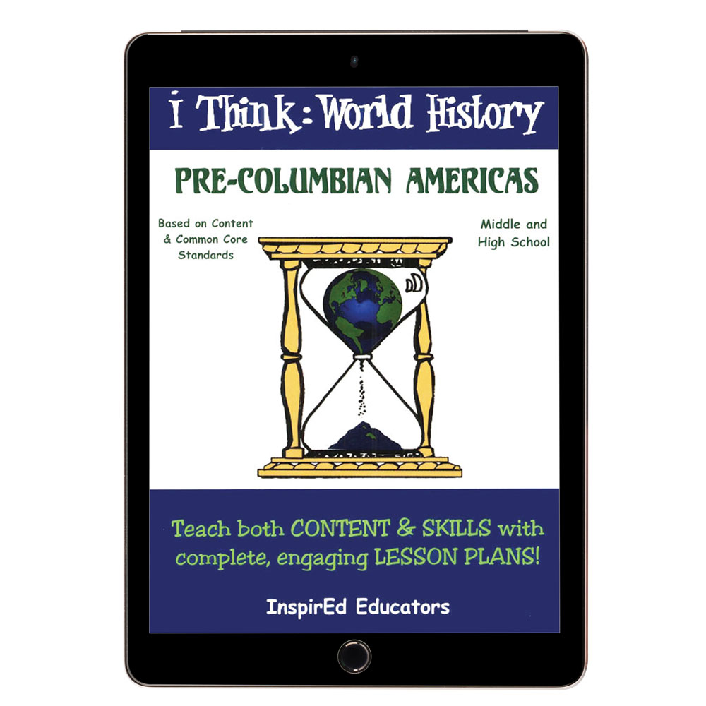 i Think: World History, Pre-Columbian Americans Activity Book