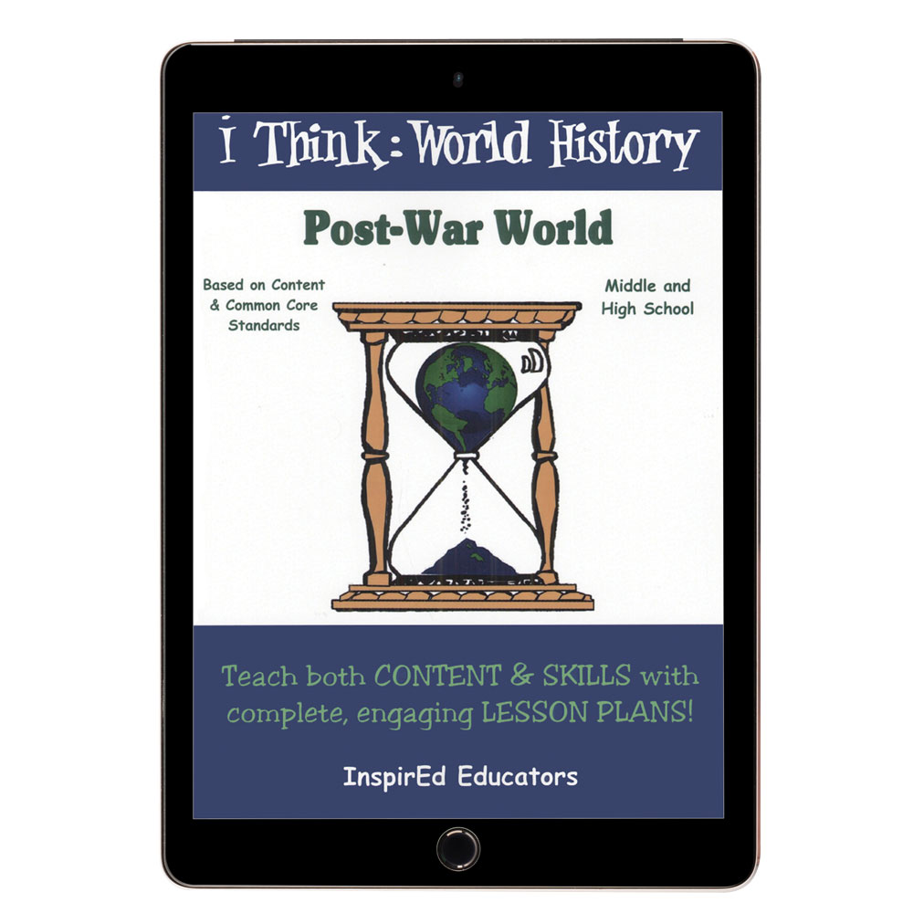 i Think: World History, Post-War World Activity Book
