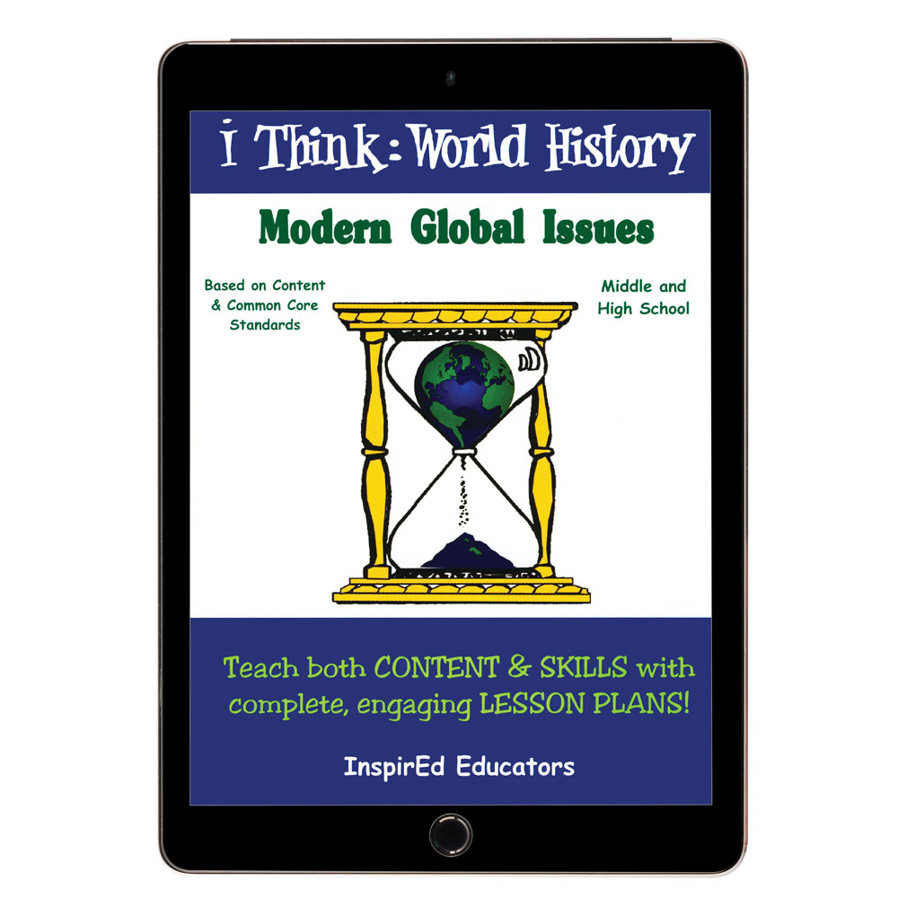 i Think: World History, Modern Global Issues Activity Book