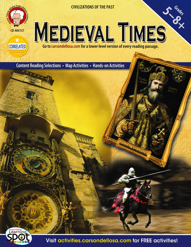 Medieval Times Activity Book