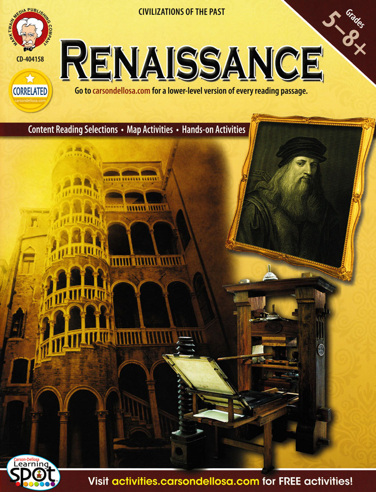 Renaissance Activity Book