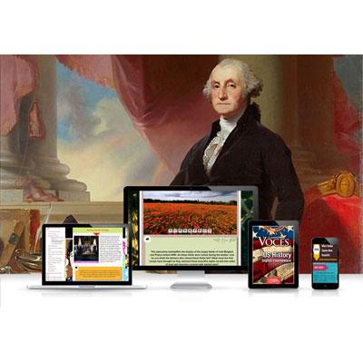 Voces® U.S. History Digital Resource Subscription