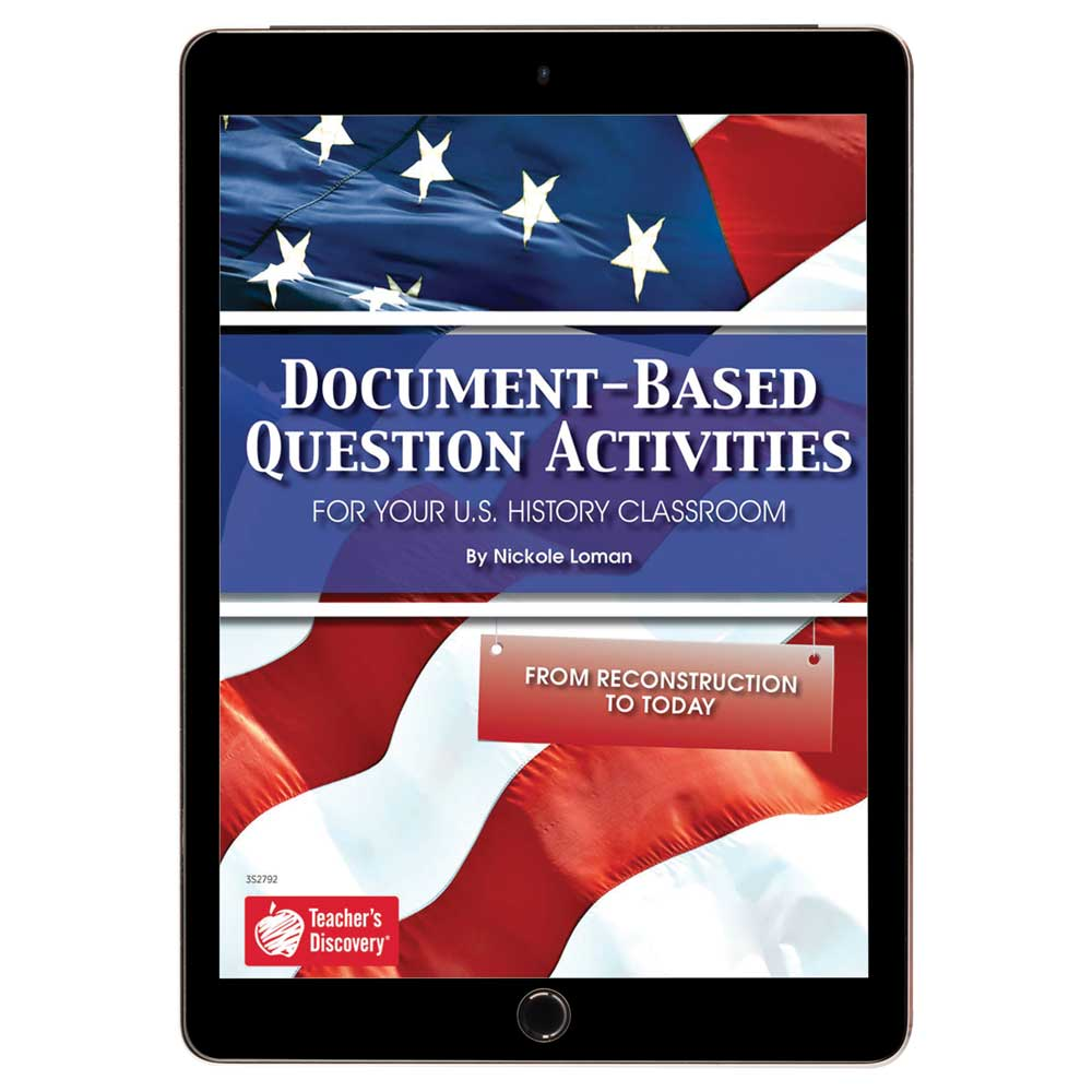 Document-Based Question Activities: From Reconstruction to Today Book