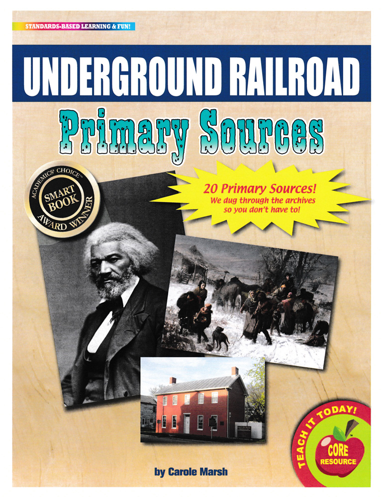 Underground Railroad Primary Sources Pack
