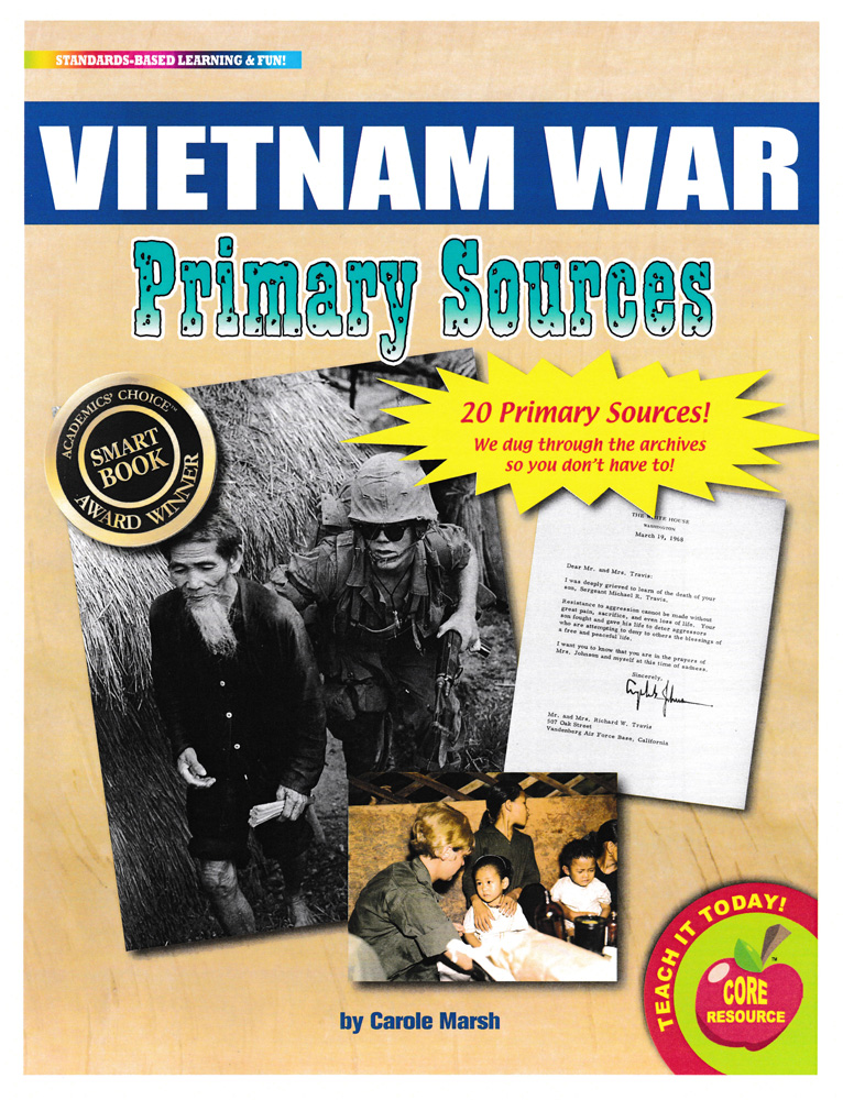 Vietnam War Primary Sources Pack