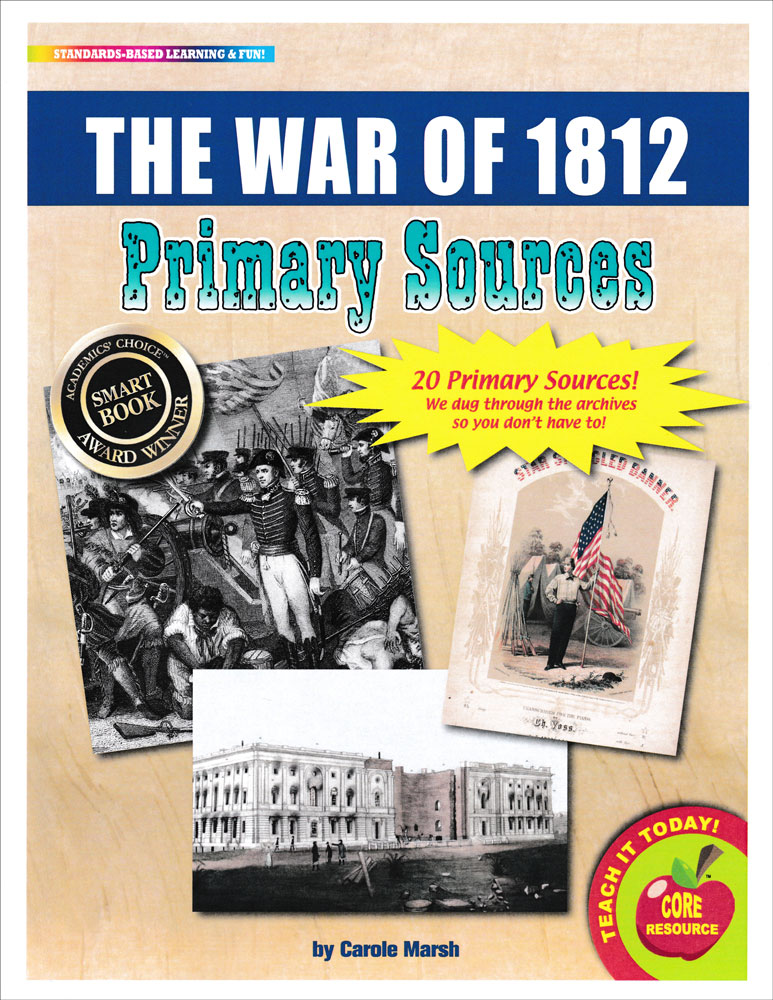The War of 1812 Primary Sources Pack