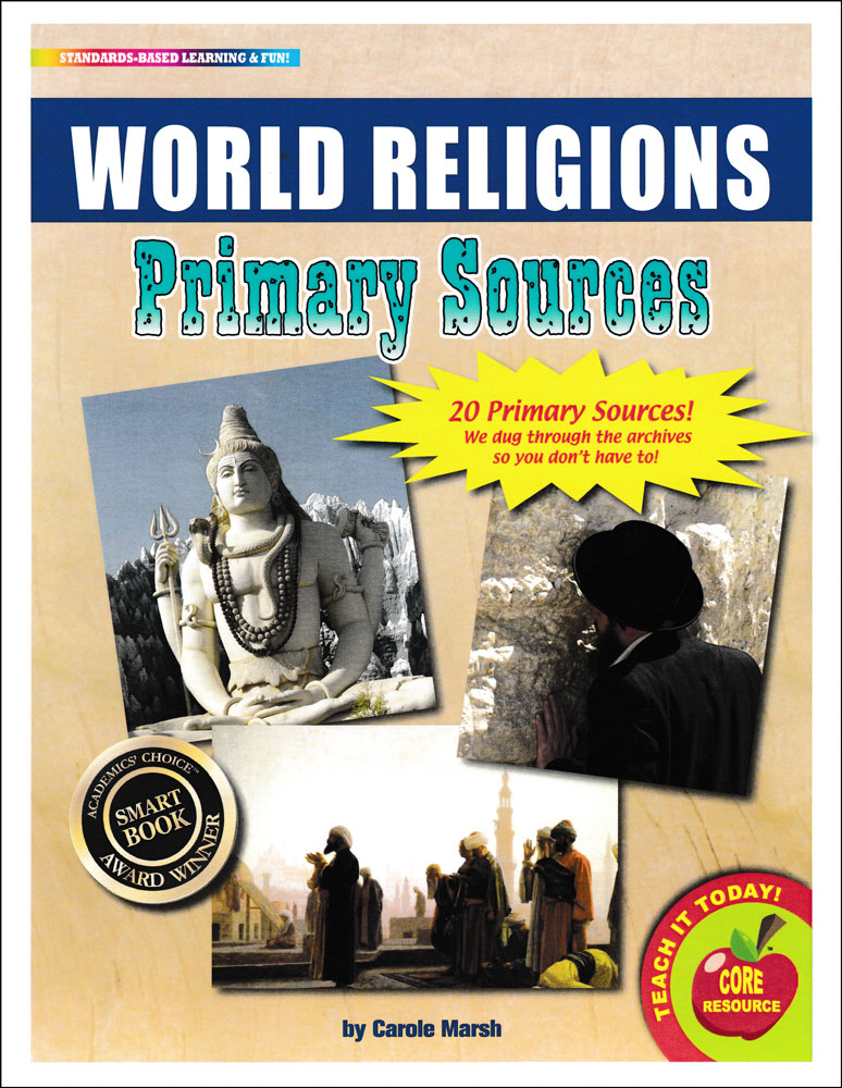 World Religions Primary Source Pack