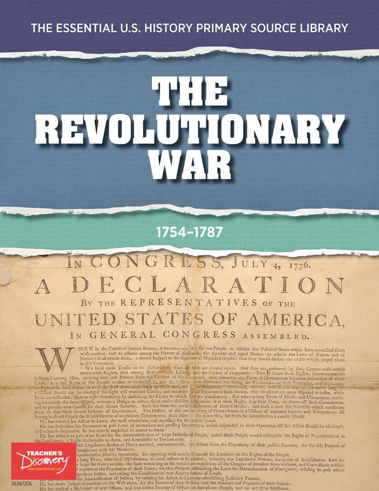 The Essential U.S. History Primary Source Library: The Revolutionary War Download