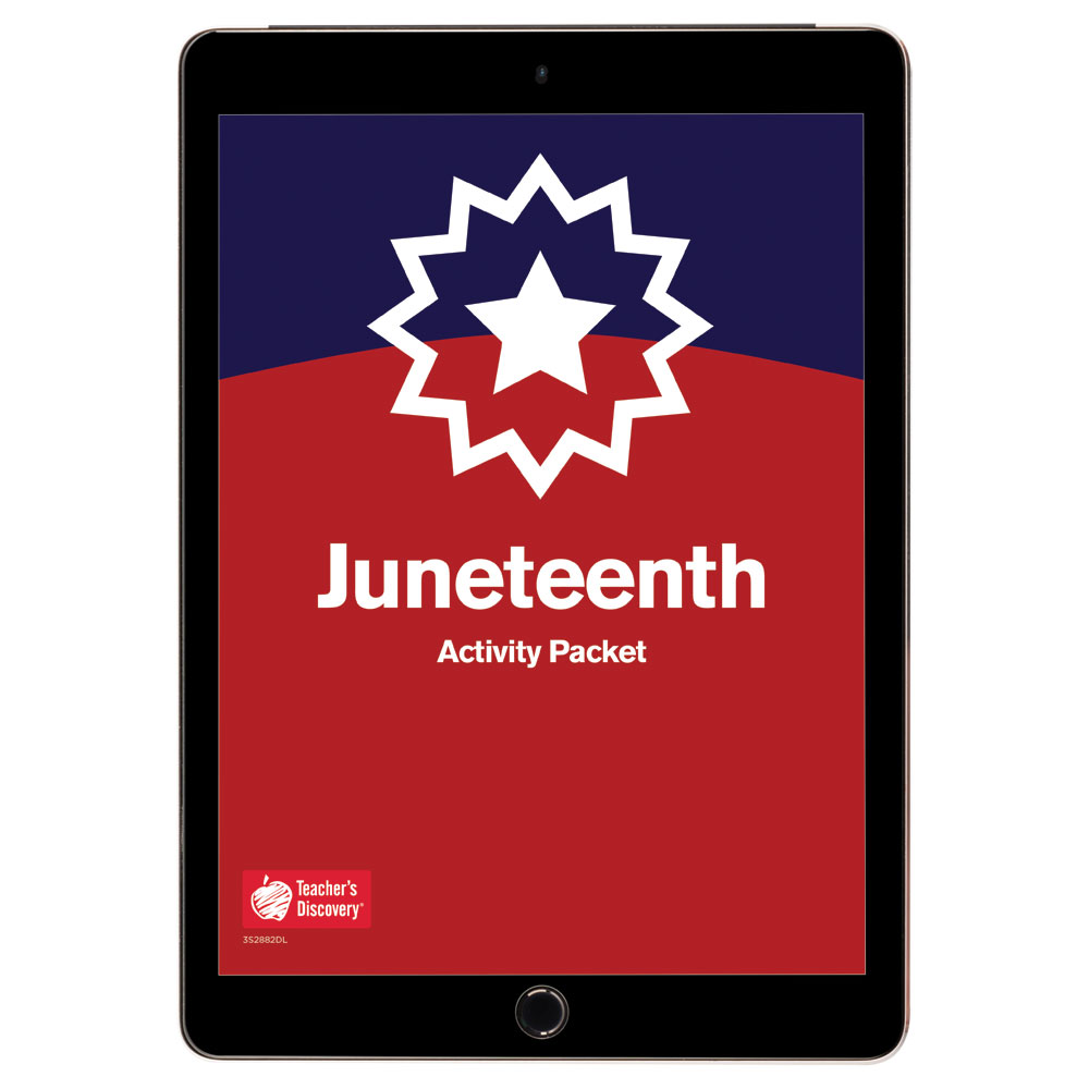 Juneteenth Activity Packet Download - Hybrid Learning Resource