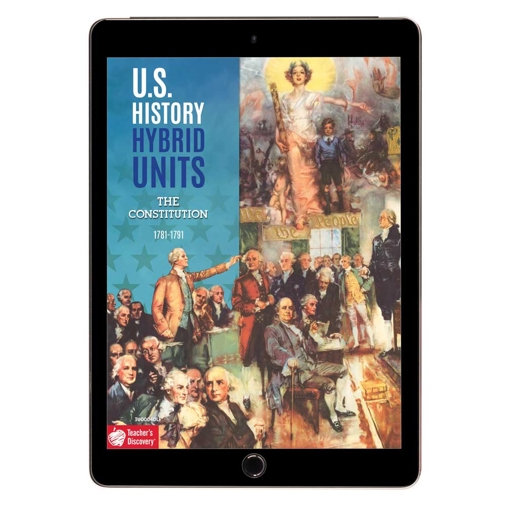 U.S. History Hybrid Unit: The Constitution Download - Hybrid Learning Resource