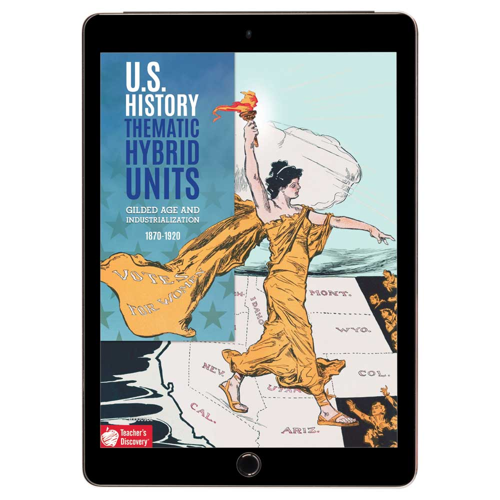 U.S. History Thematic Hybrid Unit: Gilded Age and Industrialization Download