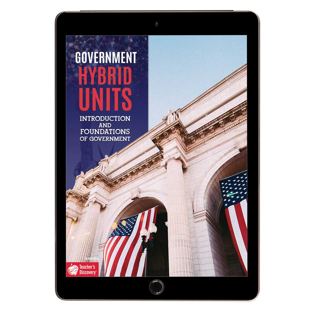 Government Hybrid Unit: Introduction and Foundations of Government Download