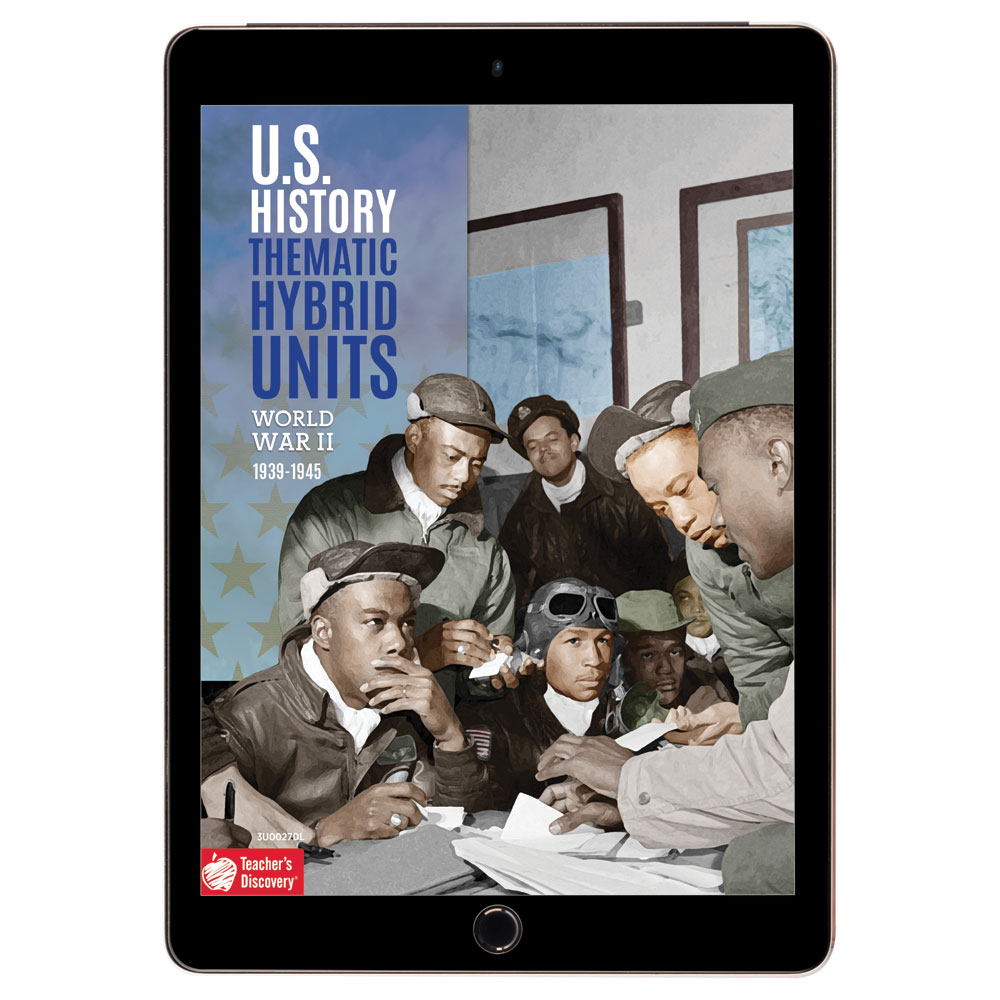 U.S. History Thematic Hybrid Unit: World War II Download