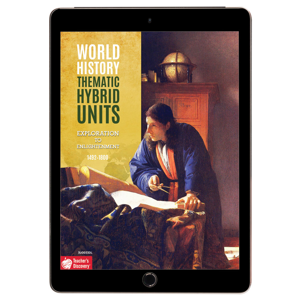 World History Thematic Hybrid Unit: Exploration to Enlightenment Download