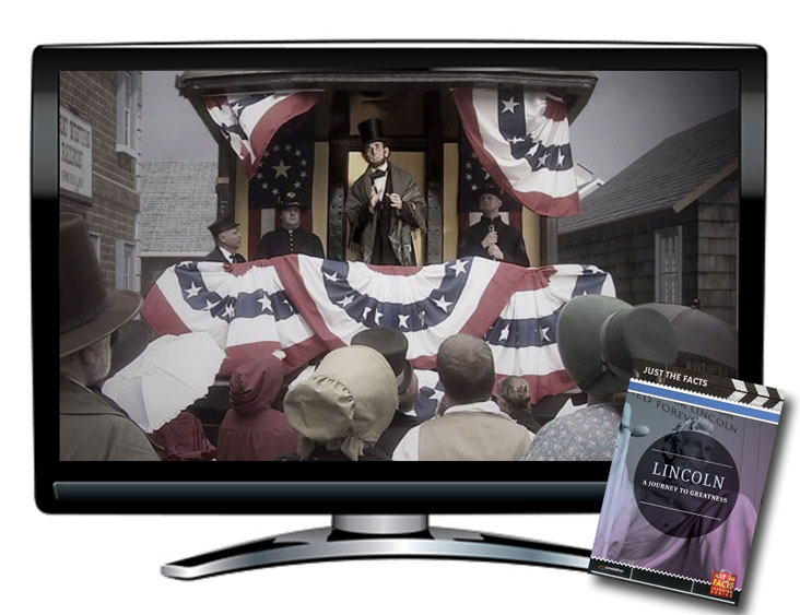 Just the Facts: Lincoln, A Journey to Greatness DVD