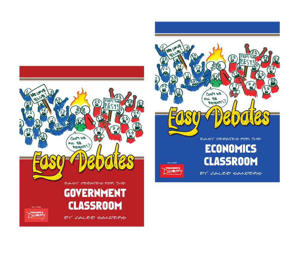 Easy Debates for Government & Economics Book Set