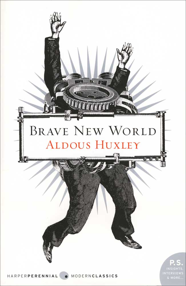 Brave New World Paperback Book (1360L)