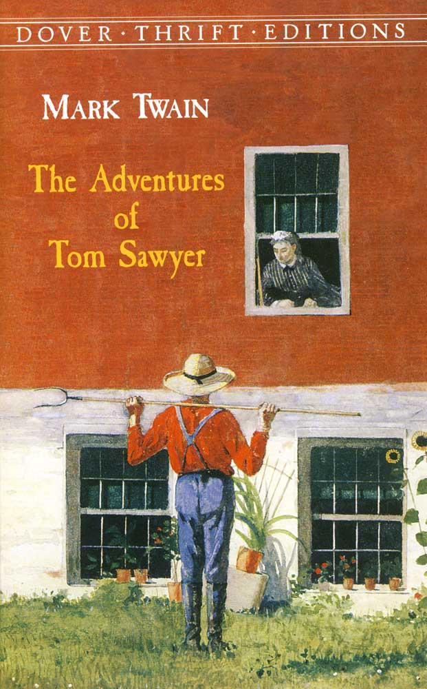The Adventures Of Tom Sawyer Paperback Book (950L)