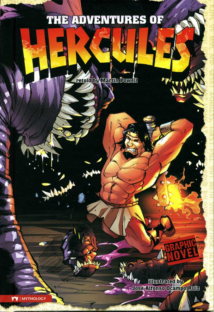 The Adventures Of Hercules Graphic Novel