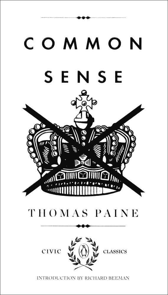 Common Sense by Thomas Paine Book