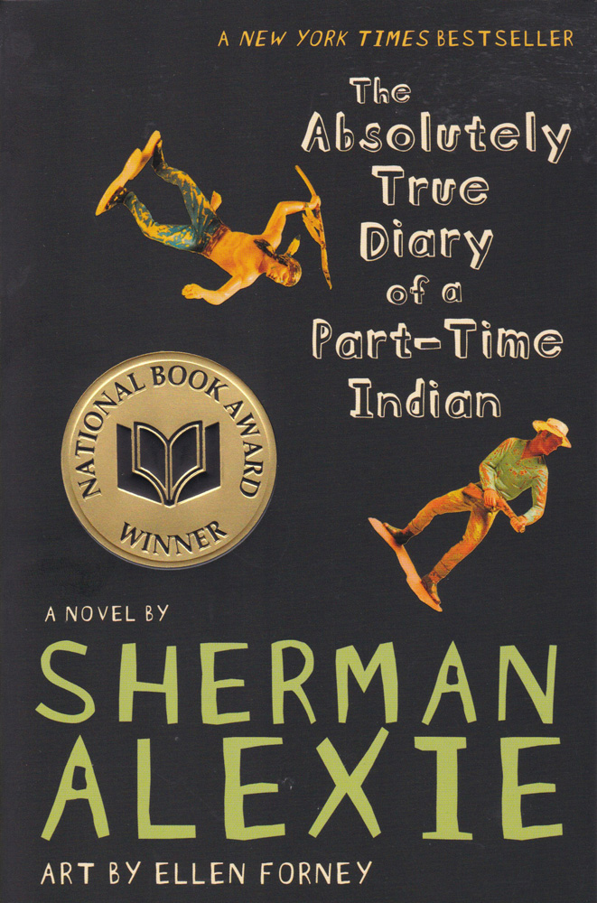 The Absolutely True Diary of a Part-Time Indian Paperback Book (600L)
