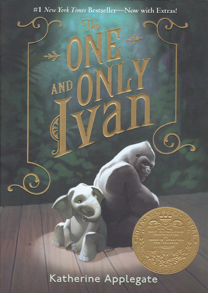 The One and Only Ivan Paperback Book (570L)