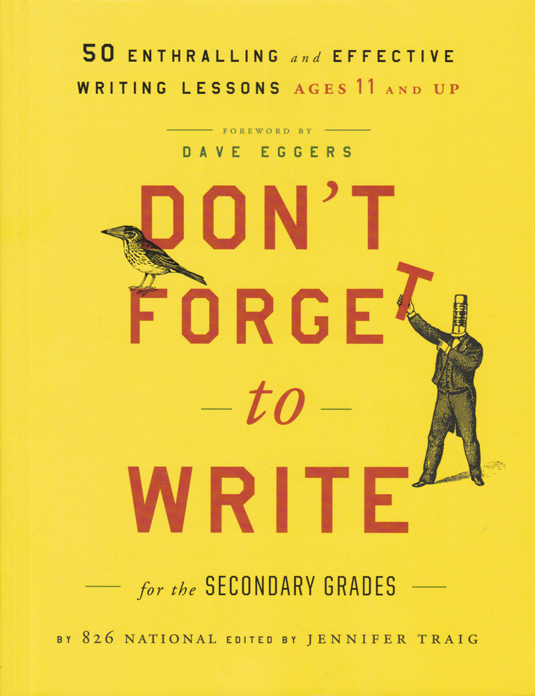 Don't Forget to Write for the Secondary Grades Book