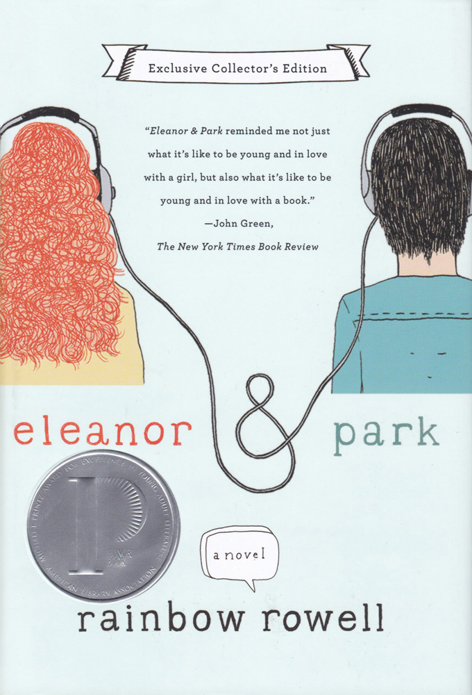 Eleanor & Park Hardcover Book (HL580L)