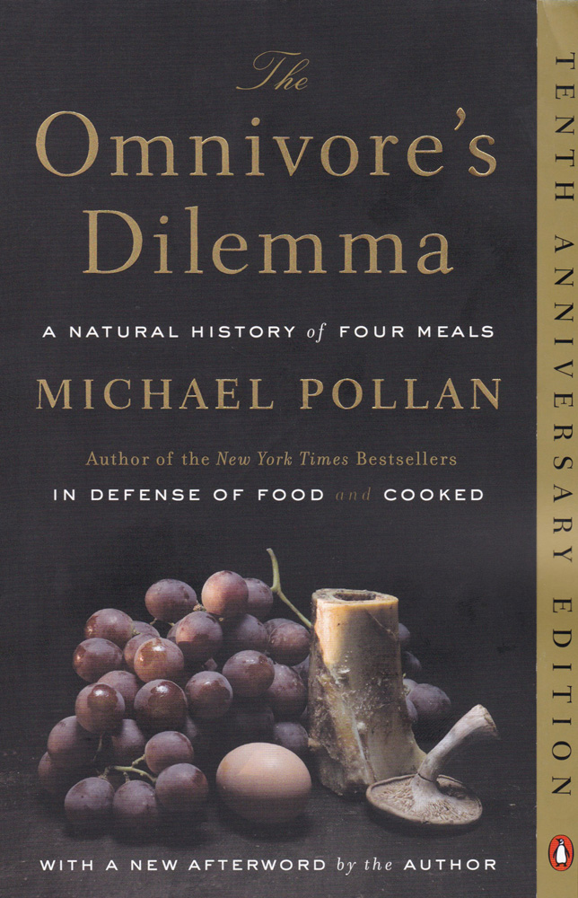The Omnivore's Dilemma Paperback Book (930L)