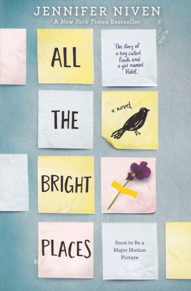 All the Bright Places Paperback Book (830L)