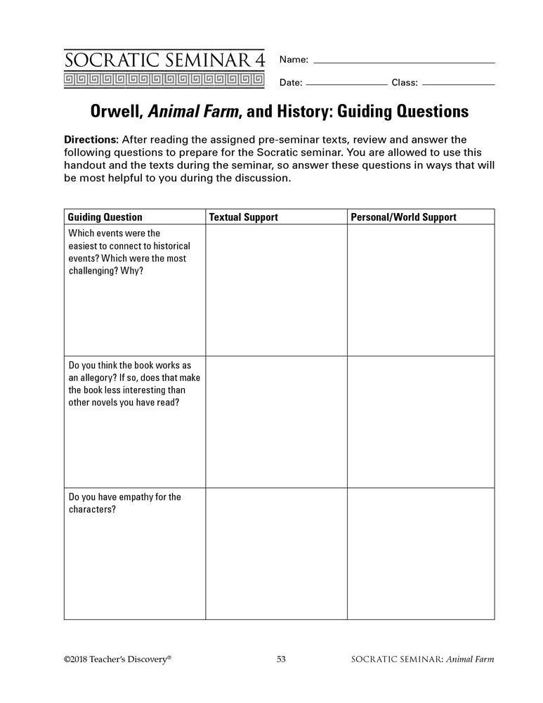 Socratic seminar worksheet image collections worksheet for Socratic seminar lesson plan template