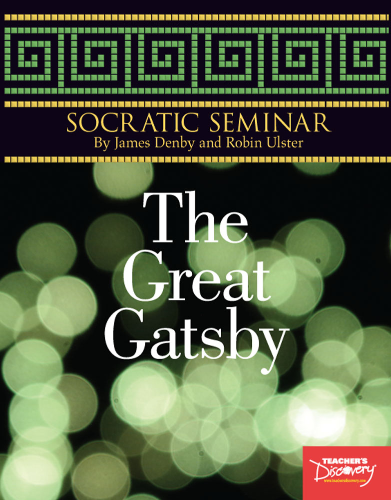 Socratic Seminar: The Great Gatsby Book