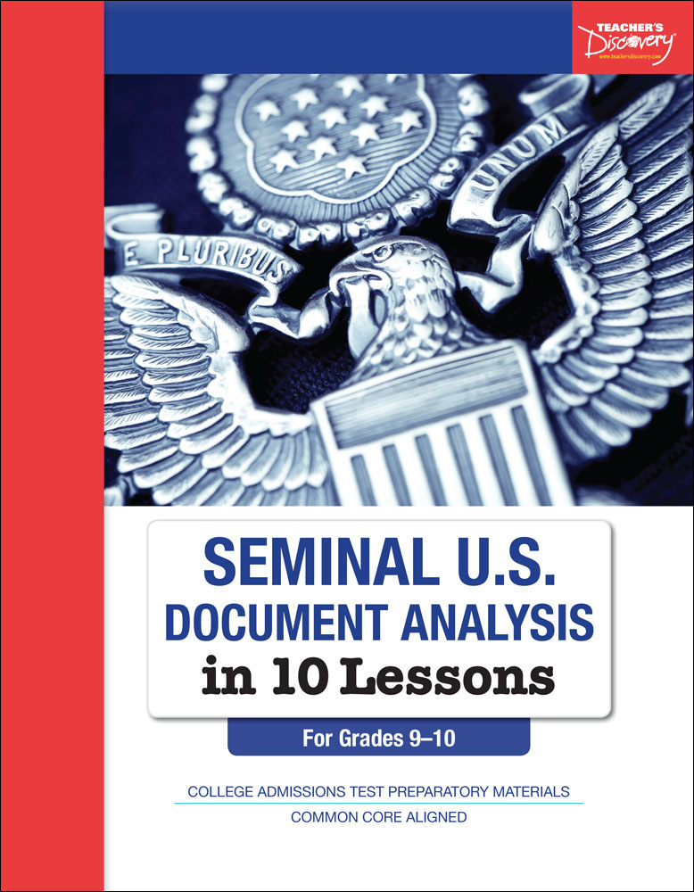 Seminal U.S. Document Analysis in 10 Lessons Book