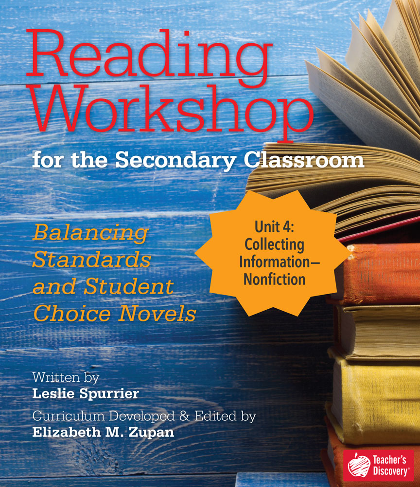 Reading Workshop for the Secondary Classroom Unit 4: Nonfiction Download