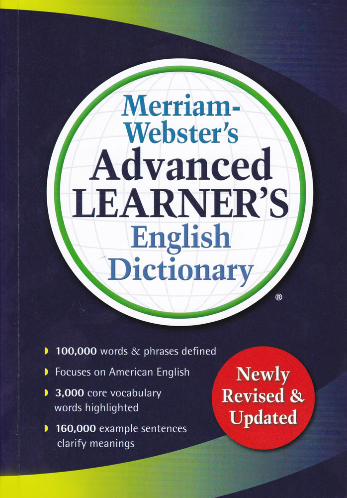 Merriam webster 39 s advanced learner 39 s english hardcover for Farcical webster