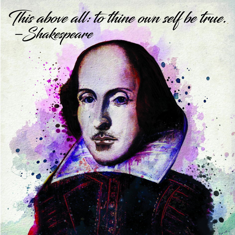 Shakespeare To Thine Own Self Be True Magnet