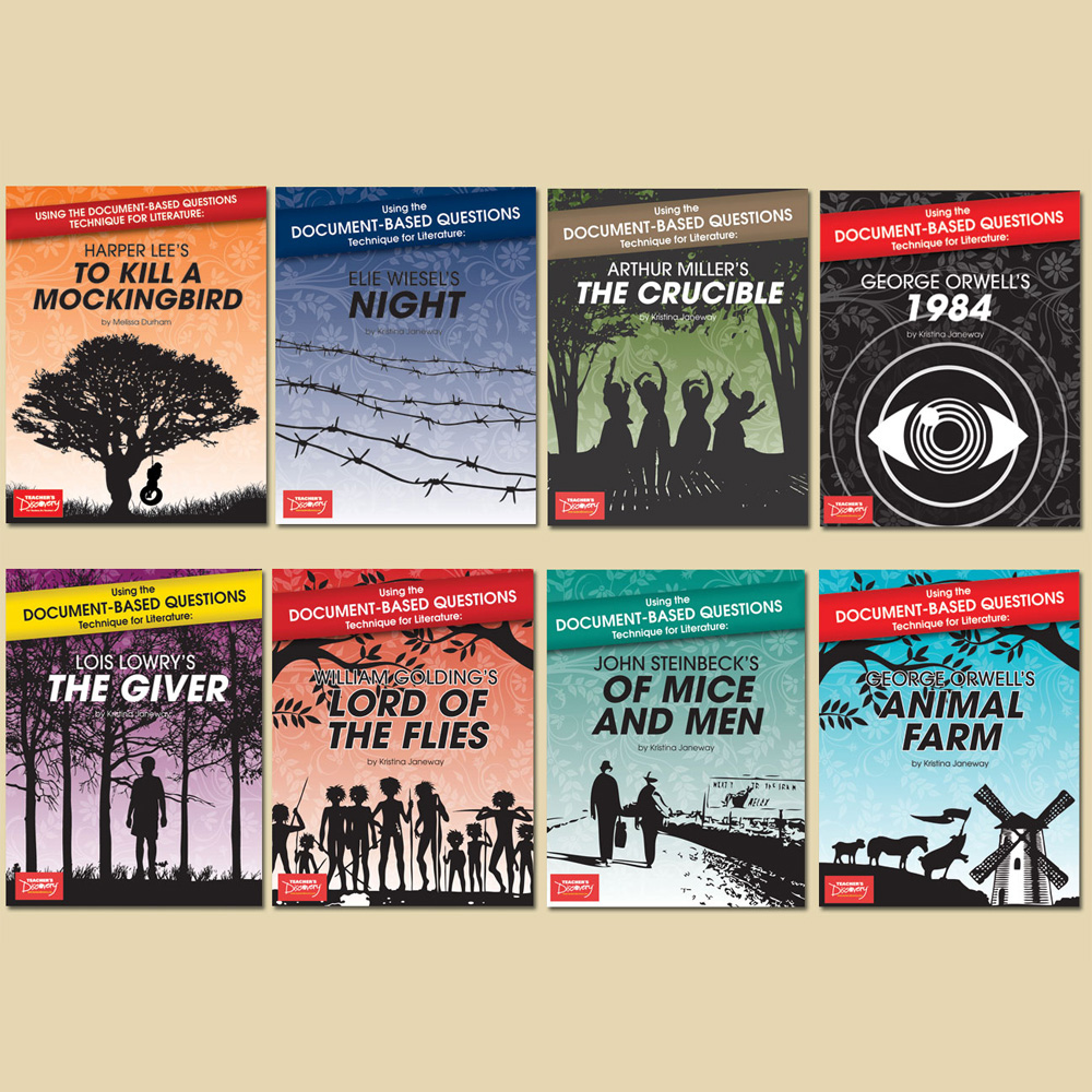Using the Document-Based Questions Technique for Literature Set of 8 Books