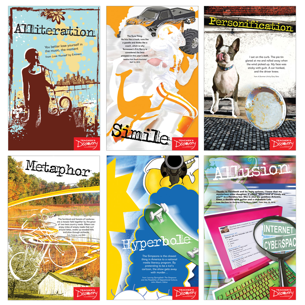 Literary Devices Posters Clearance Teachers Discovery