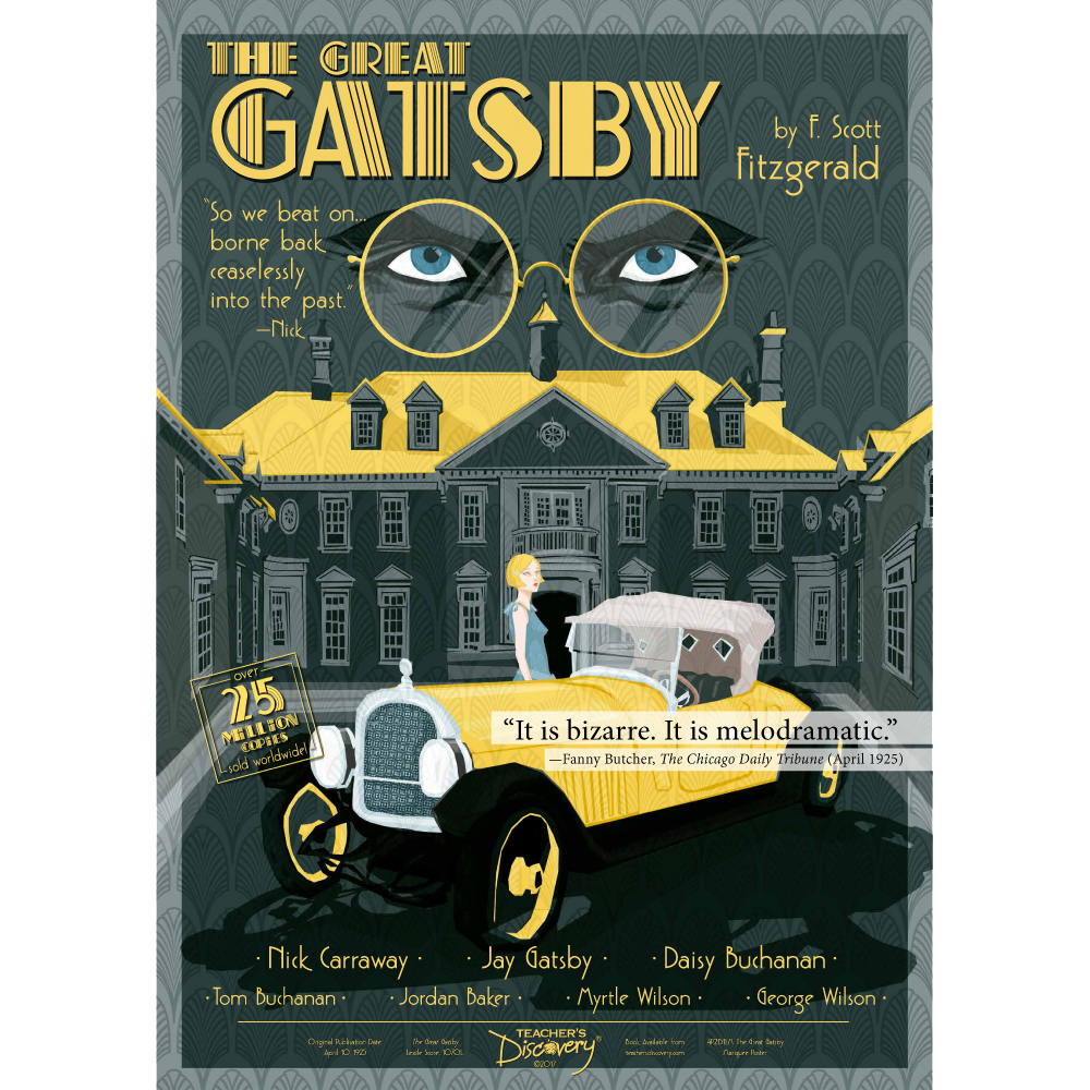 The Great Gatsby Marquee Poster