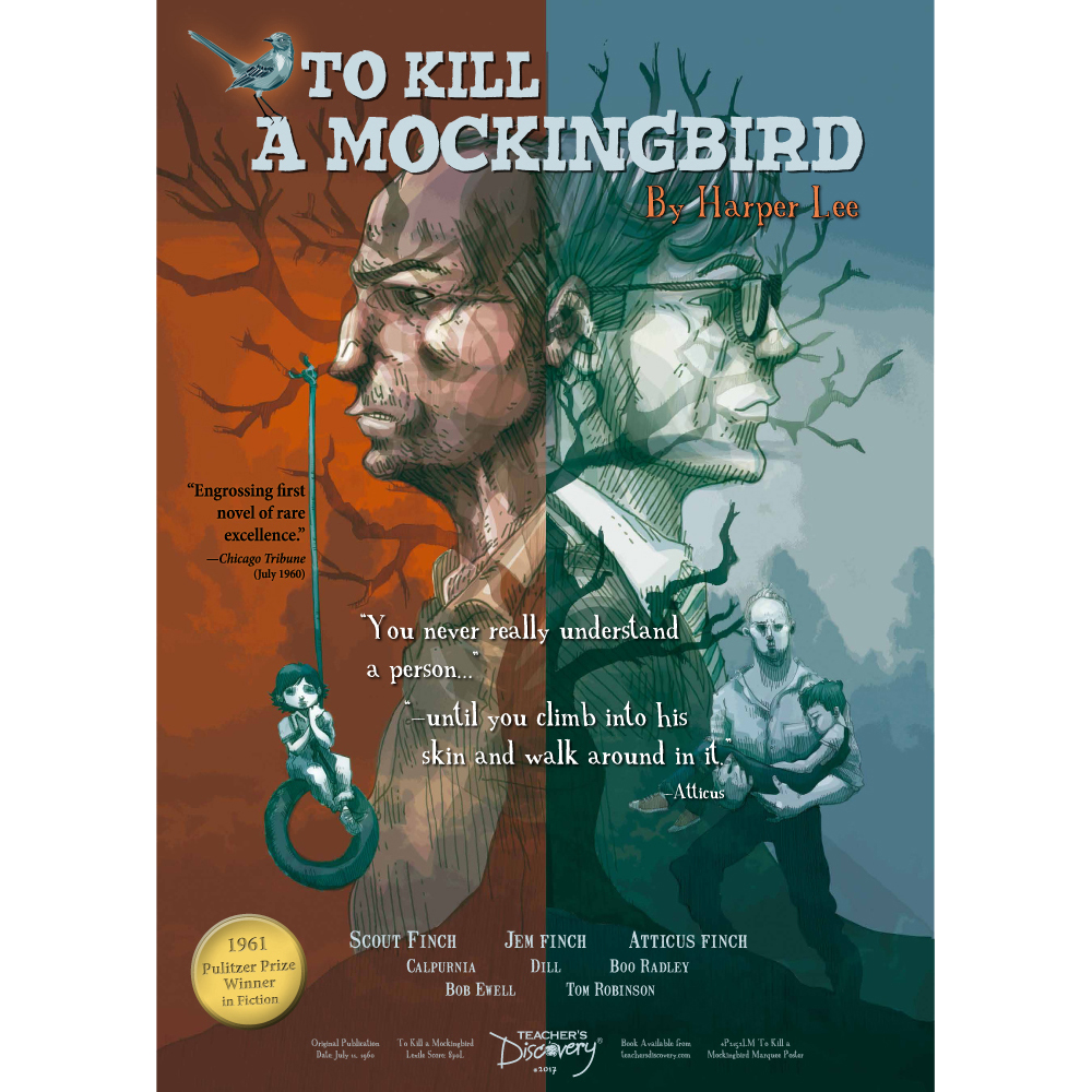 To Kill a Mockingbird Marquee Poster