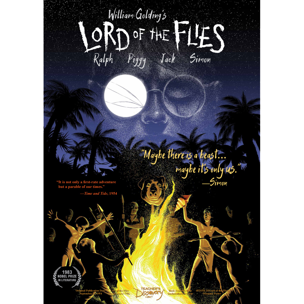Lord Of The Flies Marquee Poster, English: Teacher's Discovery