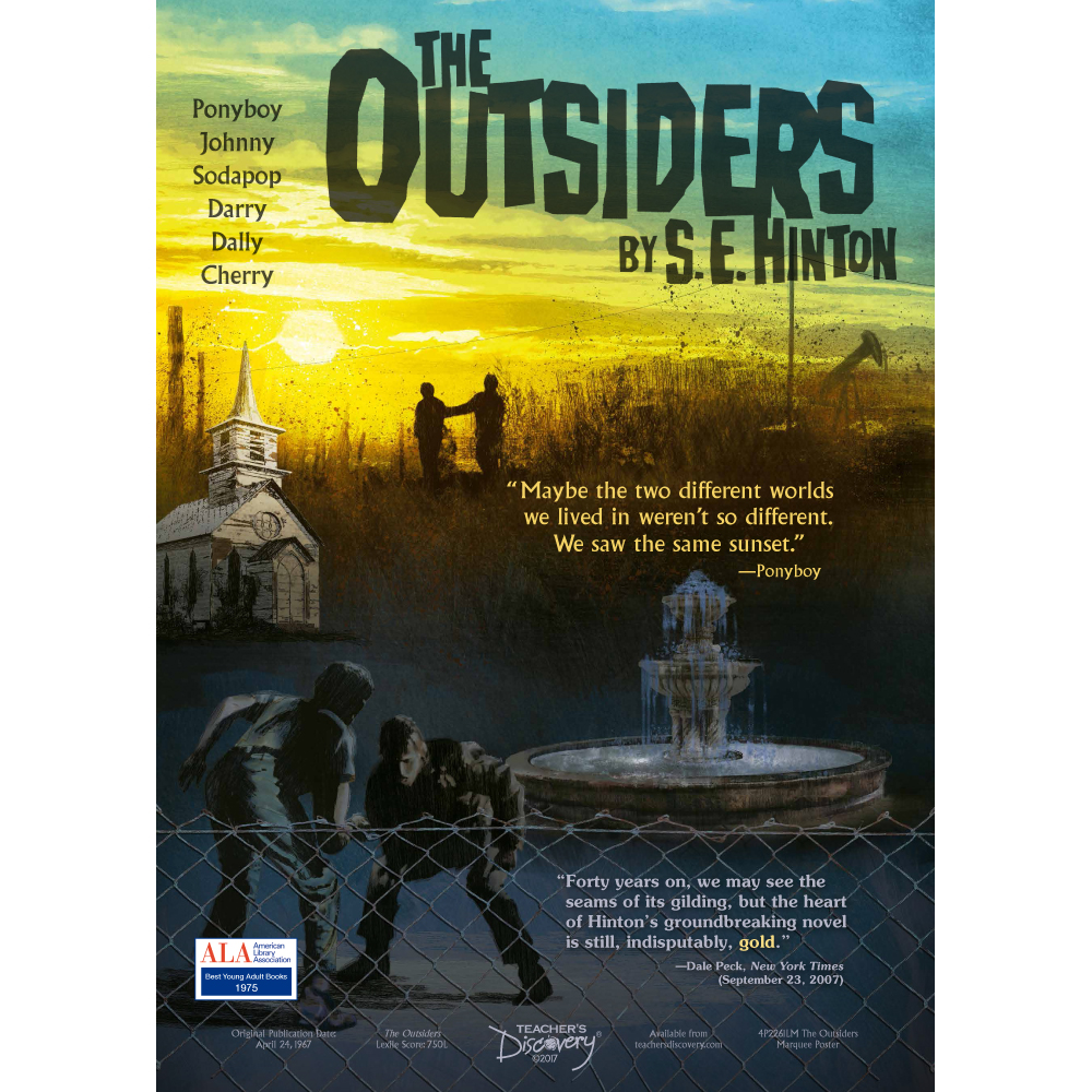 The Outsiders Marquee Poster