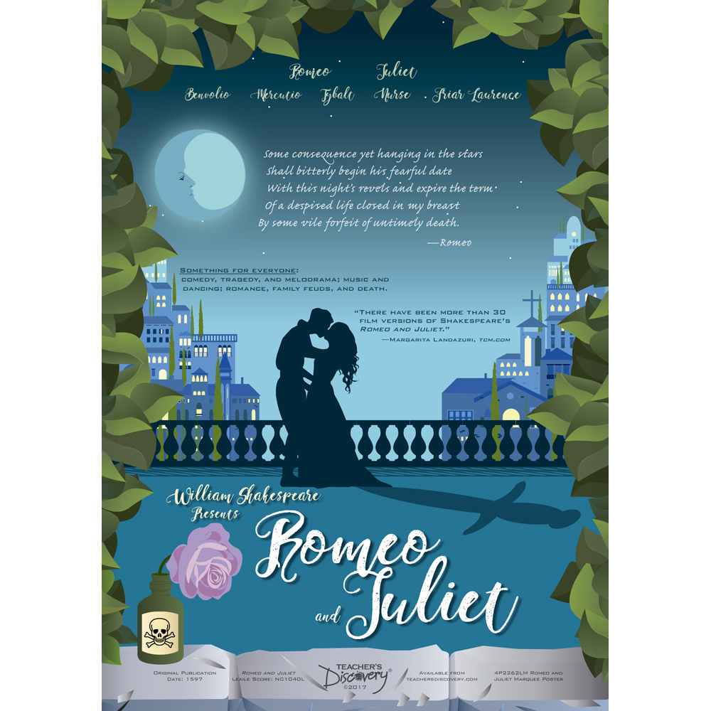 Romeo and Juliet Marquee Poster