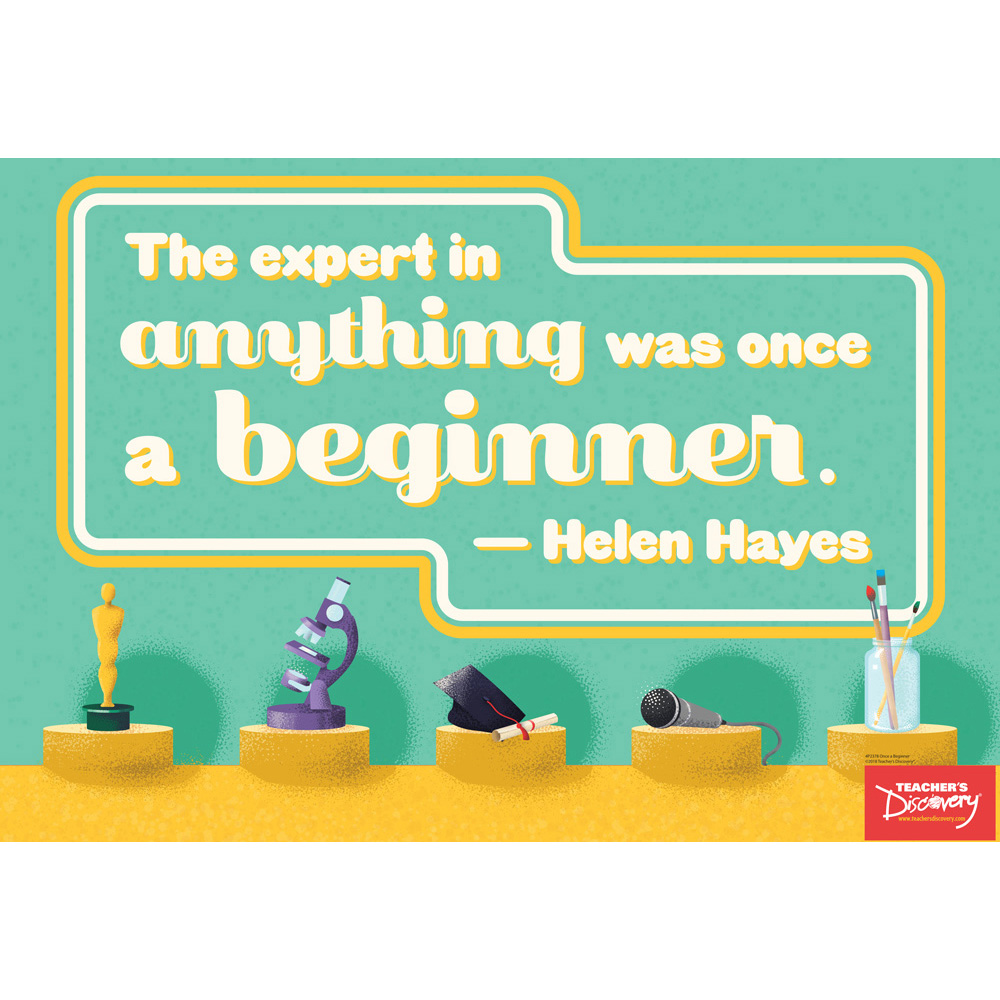 Once a Beginner Mini-Poster